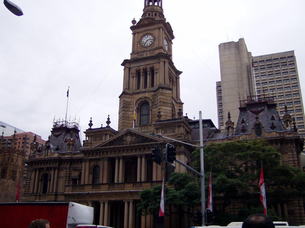 Radnice v Sydney