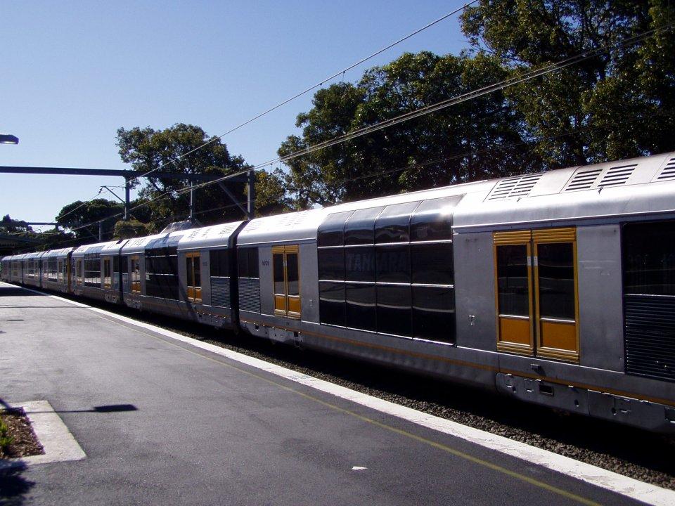 CityRail mívá tak 8 vagónů