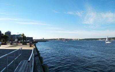 Halifax a první kousek cesty